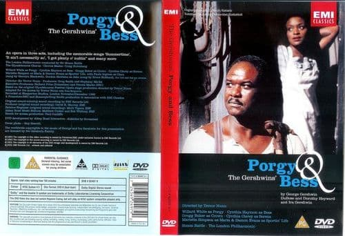 George Gershwin<br>Porgy And Bess<br>DVD